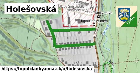 ilustrácia k Holešovská, Topoľčianky - 599m