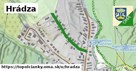 ilustrácia k Hrádza, Topoľčianky - 294m