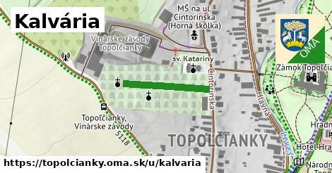 ilustrácia k Kalvária, Topoľčianky - 194m
