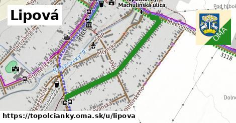 ilustrácia k Lipová, Topoľčianky - 0,88km