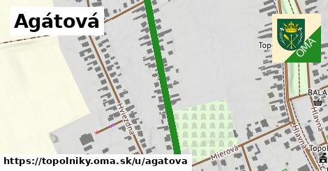 ilustrácia k Agátová, Topoľníky - 403m