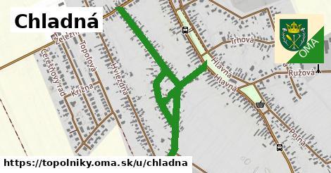 ilustrácia k Chladná, Topoľníky - 2,1km