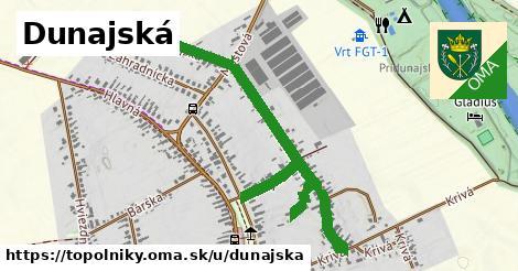ilustrácia k Dunajská, Topoľníky - 1,00km