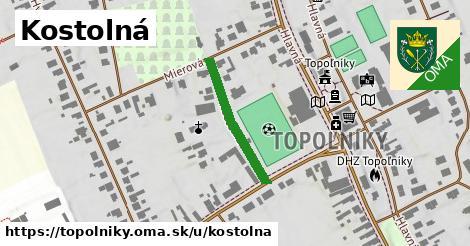 ilustrácia k Kostolná, Topoľníky - 226m