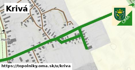 ilustrácia k Krivá, Topoľníky - 1,11km