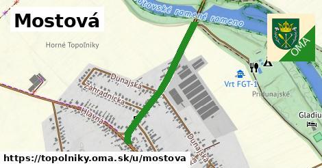 ilustrácia k Mostová, Topoľníky - 643m