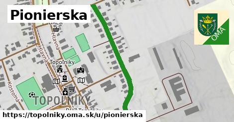 ilustrácia k Pionierska, Topoľníky - 401m