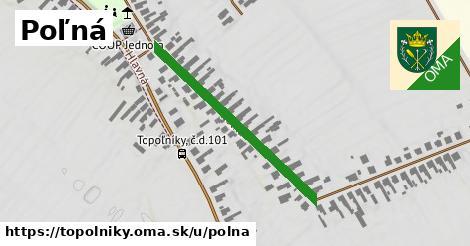 ilustrácia k Poľná, Topoľníky - 358m