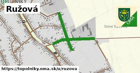 ilustrácia k Ružová, Topoľníky - 0,71km