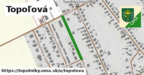 ilustrácia k Topoľová, Topoľníky - 254m