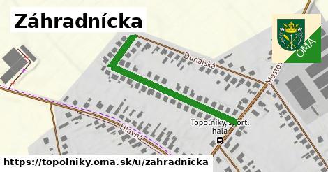 ilustrácia k Záhradnícka, Topoľníky - 406m