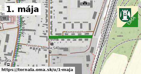 ilustrácia k 1. mája, Tornaľa - 259m