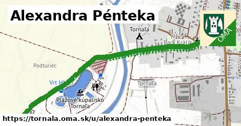 ilustrácia k Alexandra Pénteka, Tornaľa - 1,38km