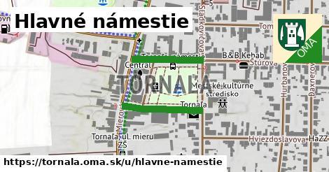 ilustrácia k Hlavné námestie, Tornaľa - 343m