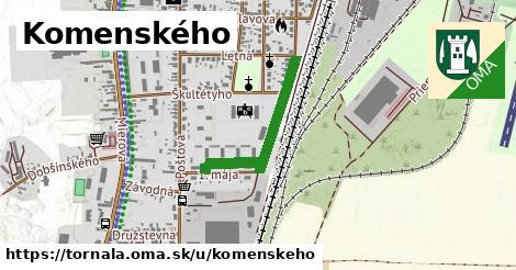 ilustračný obrázok k Komenského, Tornaľa