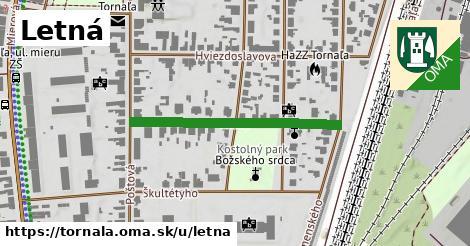 ilustrácia k Letná, Tornaľa - 331m