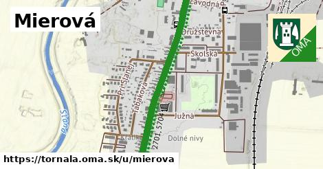 ilustračný obrázok k Mierová, Tornaľa