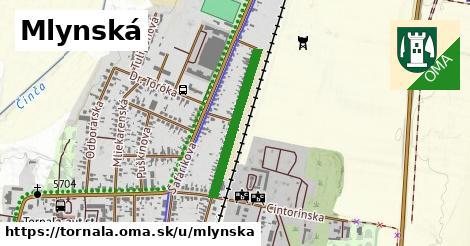ilustrácia k Mlynská, Tornaľa - 491m
