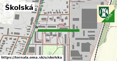 ilustrácia k Školská, Tornaľa - 297m