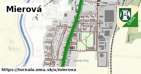 ilustrácia k Mierová, Tornaľa - 2,2km