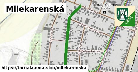 ilustrácia k Mliekarenská, Tornaľa - 392m