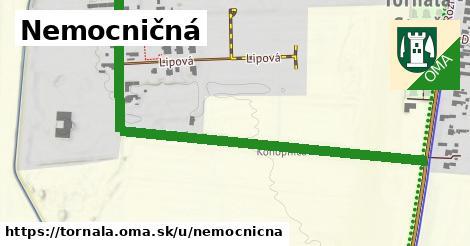 ilustrácia k Nemocničná, Tornaľa - 0,73km