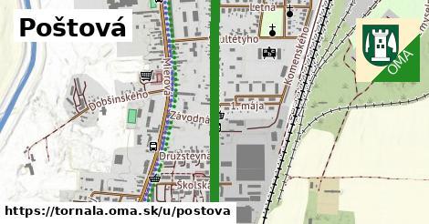 ilustrácia k Poštová, Tornaľa - 0,80km