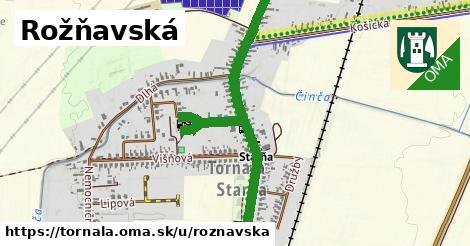 ilustrácia k Rožňavská, Tornaľa - 1,18km