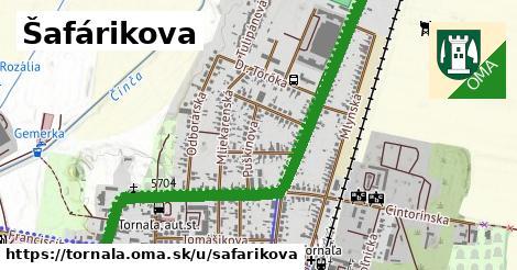 ilustrácia k Šafárikova, Tornaľa - 1,40km