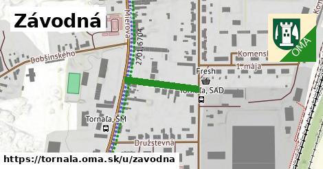 ilustračný obrázok k Závodná, Tornaľa