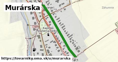 ilustrácia k Murárska, Tovarníky - 394m