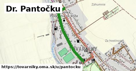 ilustrácia k Dr. Pantočku, Tovarníky - 698m