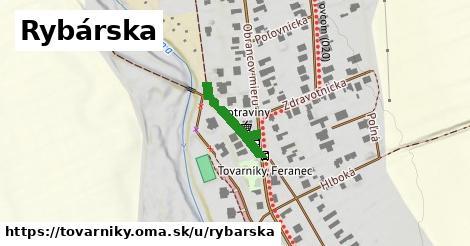 ilustrácia k Rybárska, Tovarníky - 151m