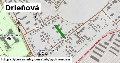 ilustrácia k Drieňová, Tovarníky - 97m