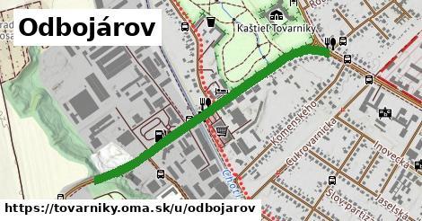 ilustrácia k Odbojárov, Tovarníky - 0,96km