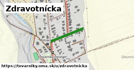 ilustrácia k Zdravotnícka, Tovarníky - 193m