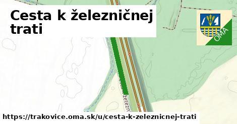 ilustrácia k Cesta k železničnej trati, Trakovice - 244m
