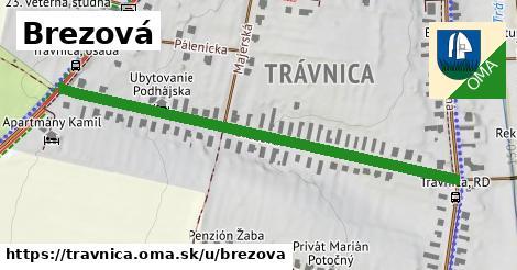 ilustrácia k Brezová, Trávnica - 671m