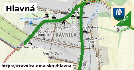 ilustrácia k Hlavná, Trávnica - 1,89km