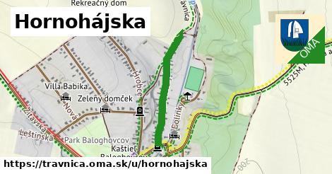 ilustrácia k Hornohájska, Trávnica - 527m