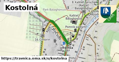 ilustrácia k Kostolná, Trávnica - 186m