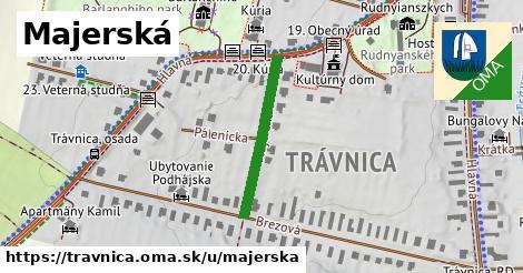 ilustrácia k Majerská, Trávnica - 240m