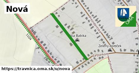ilustrácia k Nová, Trávnica - 307m