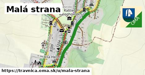 ilustrácia k Malá strana, Trávnica - 657m