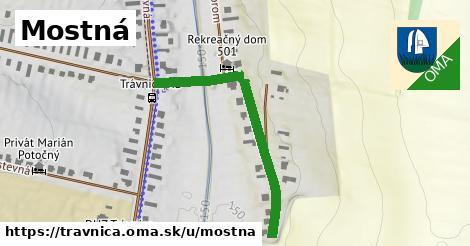 ilustrácia k Mostná, Trávnica - 331m