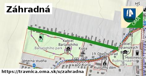 ilustrácia k Záhradná, Trávnica - 467m