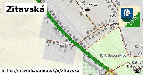 ilustrácia k Žitavská, Trávnica - 533m