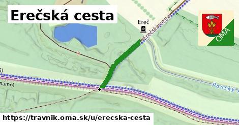 ilustrácia k Erečská cesta, Trávnik - 191m