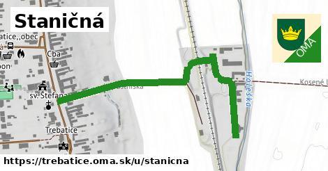 ilustrácia k Staničná, Trebatice - 612m