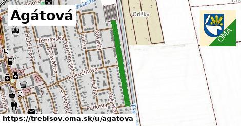 ilustrácia k Agátová, Trebišov - 533m